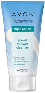 Avon True Power Shower Sminklemosó és Arctisztító