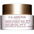 Clarins Vital Light Nappali Bőrmegvilágító Öregedésgátló Krém SPF15