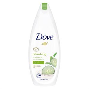 Dove Refreshing krémtusfürdő uborka és zöld tea illattal