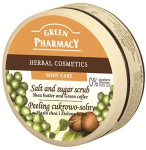 Green Pharmacy Cukros-Sós Testradír Shea Vajjal és Zöld Kávéval