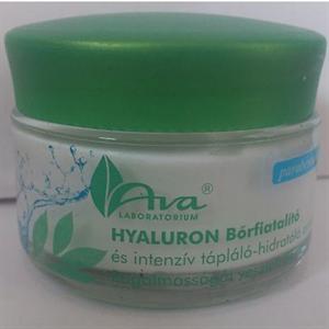 Ava Hyaluron Arckrém 24 Órás Bőrfiatalító