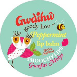 Gwdihw Smoochy Lips Borsmentás Ajakápoló