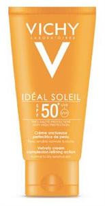 Vichy Ideal Soleil Bársonyos Napvédő Krém Arcra SPF50+