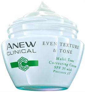 Avon Anew Clinical Bőrtónusjavító Krém Precision 3T Komplexszel SPF35