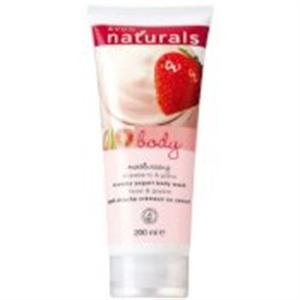 Avon Naturals Eper és Guava Joghurtos Hidratáló Tusfürdő