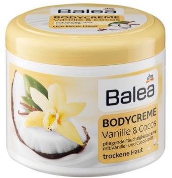 balea bodycreme vanille cocos. Black Bedroom Furniture Sets. Home Design Ideas