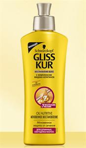 Gliss Kur Oil Nutritive Direkt Hajregeneráló Hajpakolás