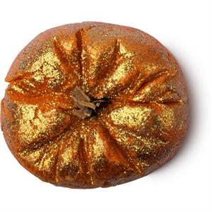 Lush Sparkly Pumpkin Habfürdő