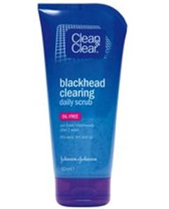 Clean & Clear  Blackhead Clearing Mitesszer-eltávolító Bőrradír