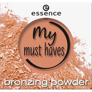Essence My Must Haves Bronzosító Púder
