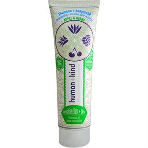 Human + Kind Shampoo + Bodywash Apple & Herbs