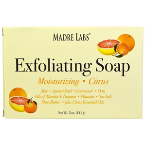 Madre Labs Exfoliating Soap Citrus Szappan