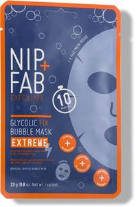 Nip + Fab Glycolic Fix Extreme Bubble Mask Fátyolmaszk