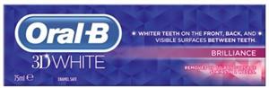 Oral-B 3D White Brilliance Fogkrém