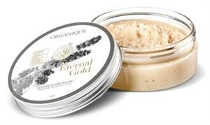 Organique Eternal Gold Cukorszemcsés Testpeeling