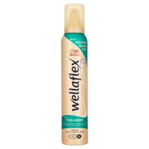 Wellaflex Fullness Ultra Erős Hajformázó Hab Vékonyszálú Hajra