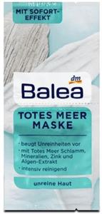 Balea Tisztító Arcmaszk Holt-Tengeri Iszappal