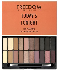 Freedom Makeup Today's Tonight Pro Decadence Szemhéjpúder Paletta