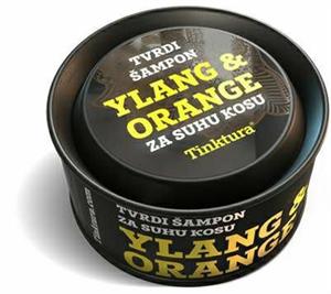 Tinktura Ylang & Narancs Szilárd Sampon