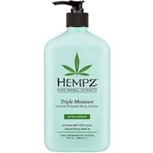 Hempz Triple Moisture Herbal Whipped Body Cream Testápoló