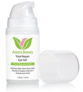 Amara Beauty Total Repair Szemkörnyékápoló Gél Peptidekkel és Növényi Őssejtekkel