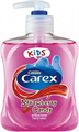 Carex Kids Strawberry Candy Antibakteriális  Folyékony Szappan