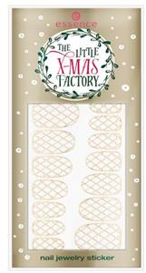 Essence The Little X-Mas Factory Nail Jewelry Sticker