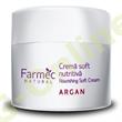 Farmec Natural Soft Argános Bőrtápláló Krém