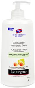 Neutrogena Tápláló Testápoló Sarki Szederrel Norvég Formula Száraz Bőrre