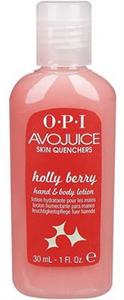 OPI Avojuice Holly Berry Kéz & Testkrém