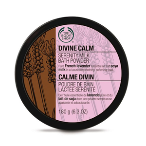 The Body Shop Divine Calm Nyugtató Fürdősó