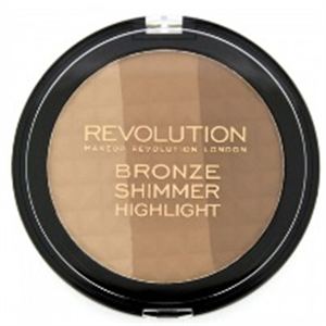 MakeUp Revolution Ultra Bronze Brozosító és Highlighter