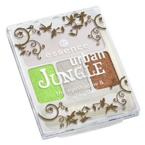 Essence Urban Jungle Trio Szemhéjpúder és Highlighter