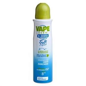 Vape Derm&Dress Soft Bőrre és Ruhára Fújható Szúnyogriasztó Aeroszol