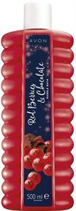 Avon Piros Gyümölcsök és Csokoládé Habfürdő