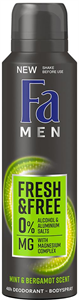 Fa Men Fresh & Free Mint-Bergamot Deo Spray