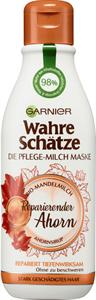 Garnier Wahre Schätze Pflege-Milch Juhar Regeneráló Hajmaszk