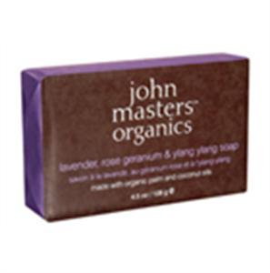 John Masters Organics Lavender, Rose Geranium & Ylang-ylang Szappan