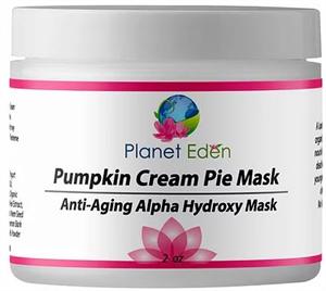 Planet Eden Pumpkin Cream Pie Mask