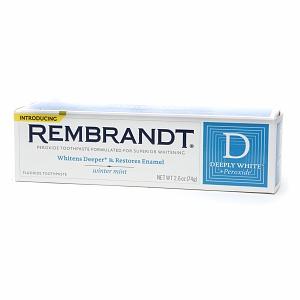 Rembrandt Deeply White + Peroxide Whitening Winter Mint Fogkrém