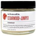 Schmidt's Cedarwood + Juniper Krémdezodor