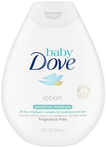 Baby Dove Sensitive Moisture Testápoló - Fragrance Free