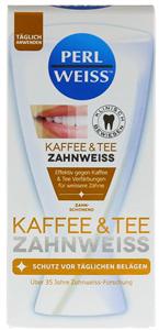 Perl Weiss Kávé és Tea Fogfehérítő Krém