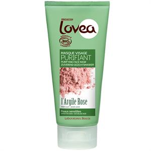 Lovea Masque Visage Purifiant À L'argile Rose