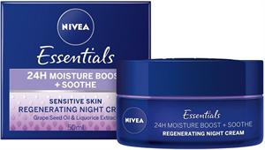 Nivea Essentials Nyugtató Éjszakai Arckrém