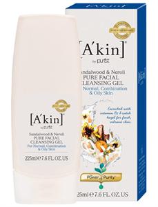 A'kin Sandalwood & Neroli Pure Facial Cleansing Gel