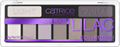 Catrice The Edgy Lilac Collection Eyeshadow Palette Szemhéjpúder Paletta