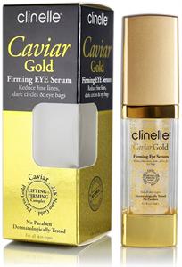 Clinelle Caviar Gold Feszesítő Szemkörnyékápoló Szérum