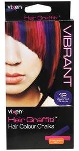 Vixen Body Art Hair Graffiti