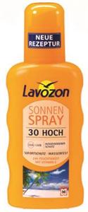 Lavozon Sonnen Spray Transparent SPF30